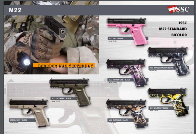 Achat premier pistolet .22 Issc_m10