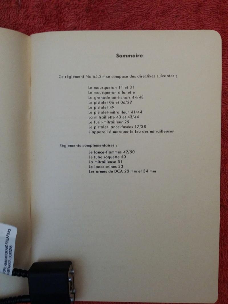 Divers règlements  militaires suisses Regl1_19