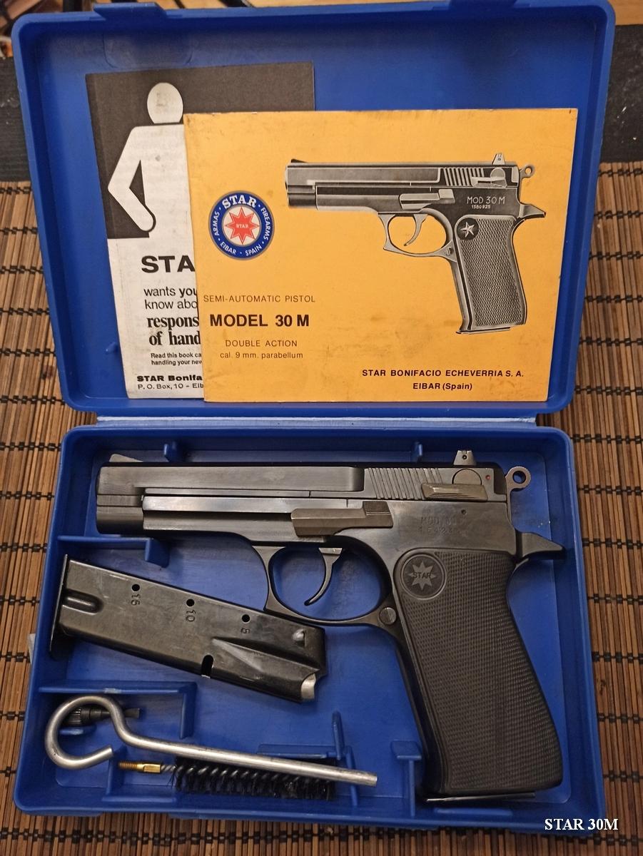 Pistolet Star 30M Star0019
