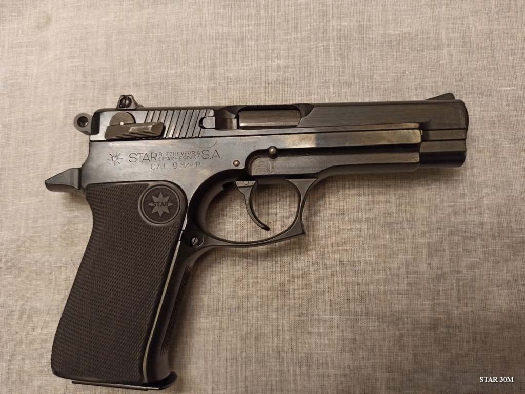 Pistolet Star 30M Star0022