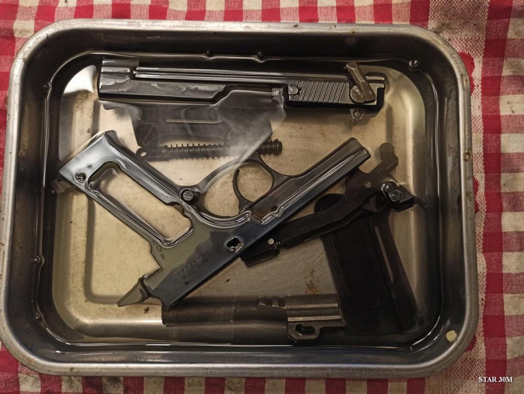Pistolet espagnole Star 30M Star0112