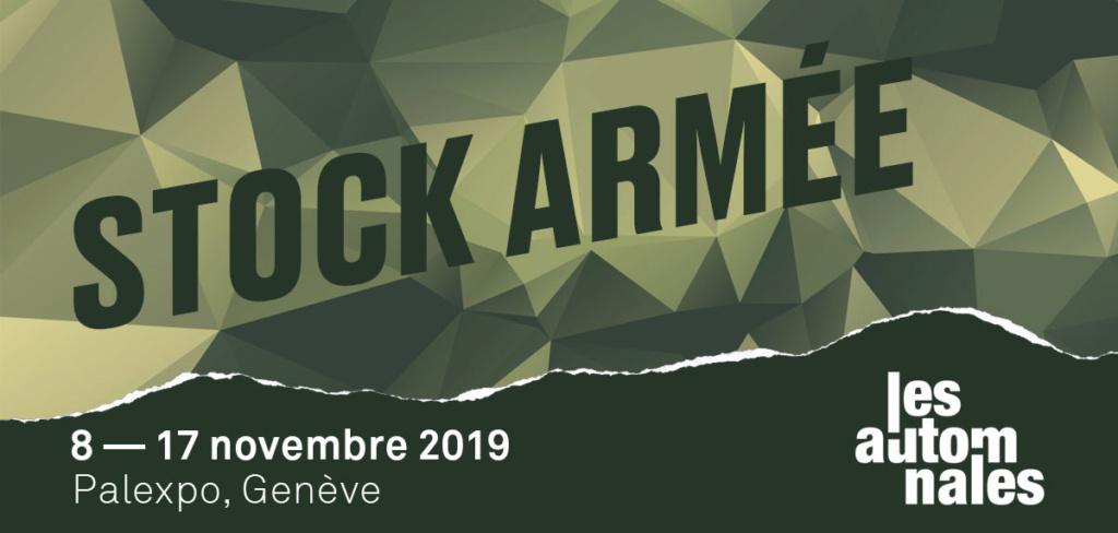 déstockage militaire Palexpo Genève du 8 au 17 novembre 2019 Stock-10