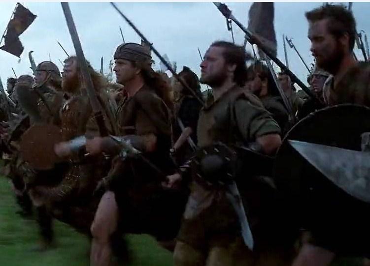Capacete de cuero de William Wallace Screen12