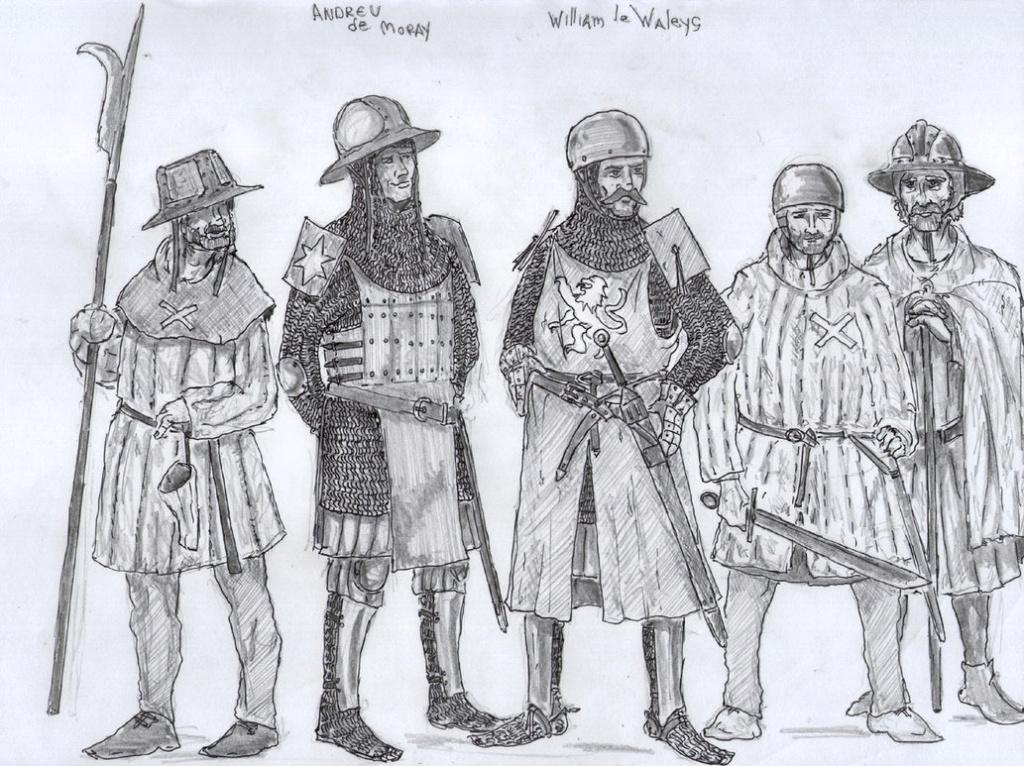 Capacete de cuero de William Wallace Willia10