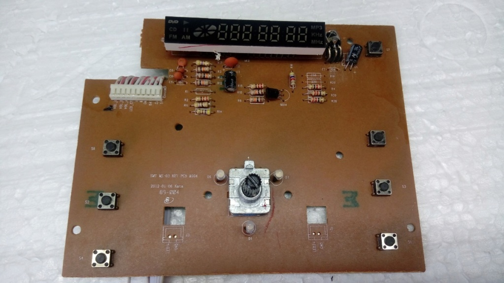 mini sistem mondial MS-03 duvida sobre potenciometro Placa-10