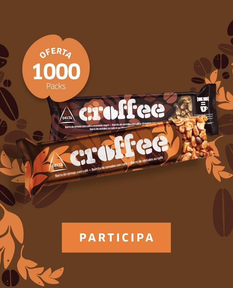 Amostras Delta Cafés- 1000 pack Croffee 50820510
