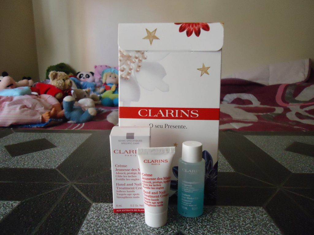 Amostras Clarins - Oferta de Kit Imagem32