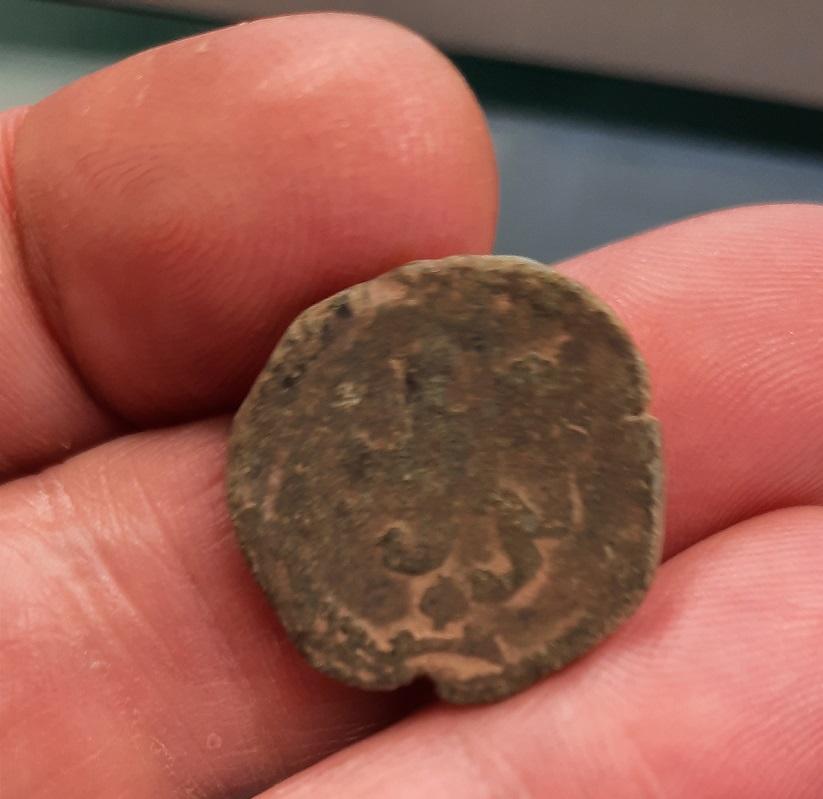2 maravedís de Felipe II de Toledo. 410