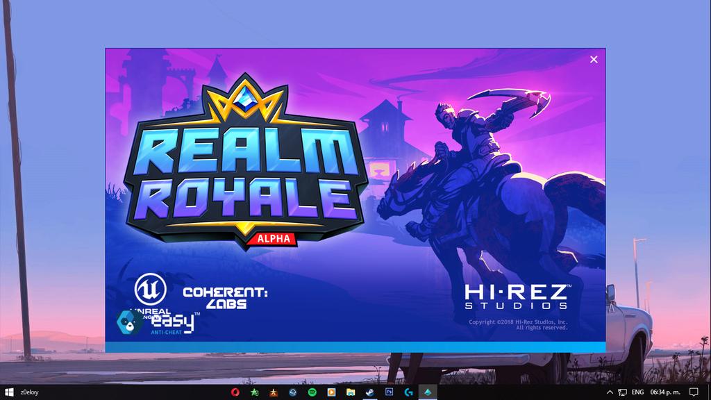 ERROR (0xc00000b7)   Realm Royale Lul10