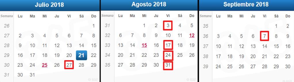 Campeonato TCR 2018 Calend10