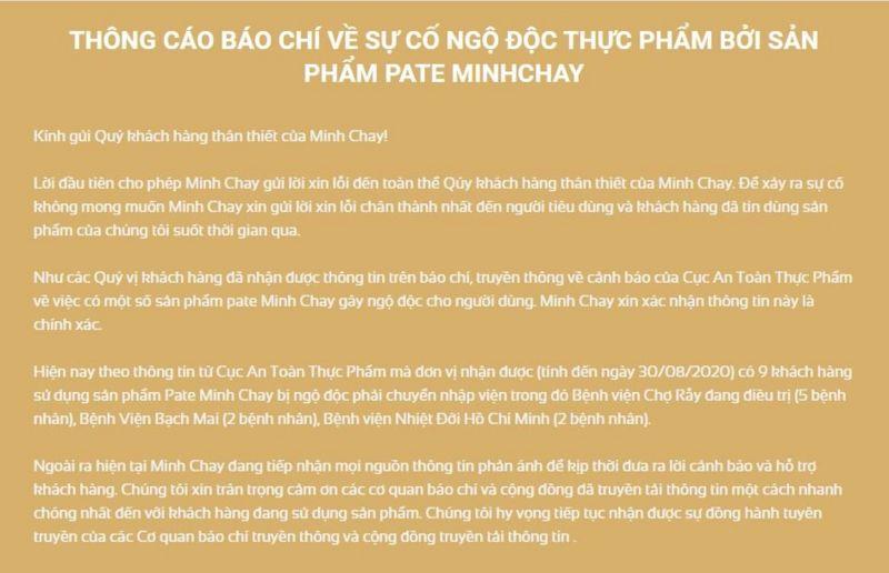 Nhiễm độc thực phẩm tại Việt Nam _1142311
