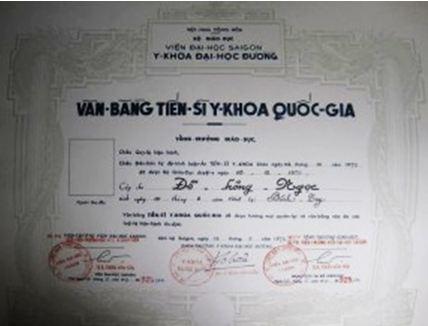 Bằng Cấp, Học Vị và Tước Vị Đại Học Bangca11