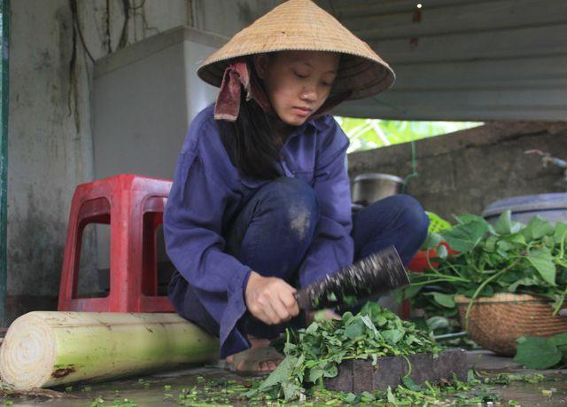 Nữ sinh nhà nghèo nuôi gà, bán cà phê gom góp tiền đi học Co-be-11