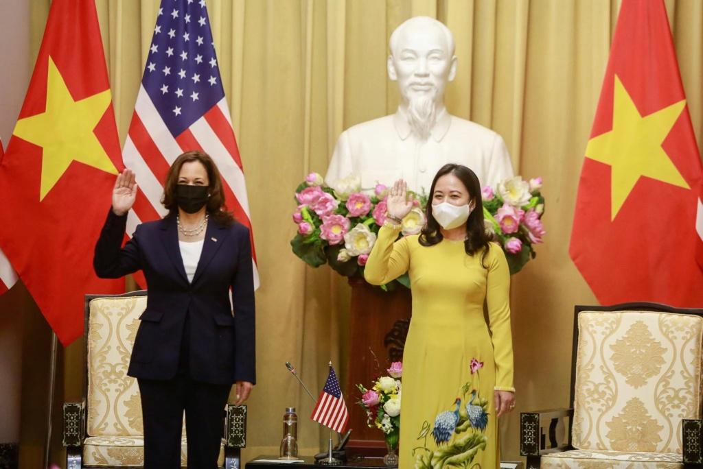 Phó tổng thống Mỹ Kamala Harris sang Việt Nam Kamala12