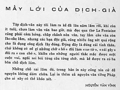 Truyện ngụ ngôn La Fontaine tròn 350 tuổi Nvvpre10