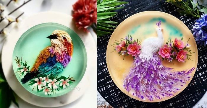 Vượt qua căn bệnh ung thư nhờ bận rộn sáng tạo những tác phẩm đẹp Raucau10