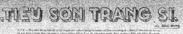 Tự Lực văn đoàn – Văn học và cách mạng Tieuso10