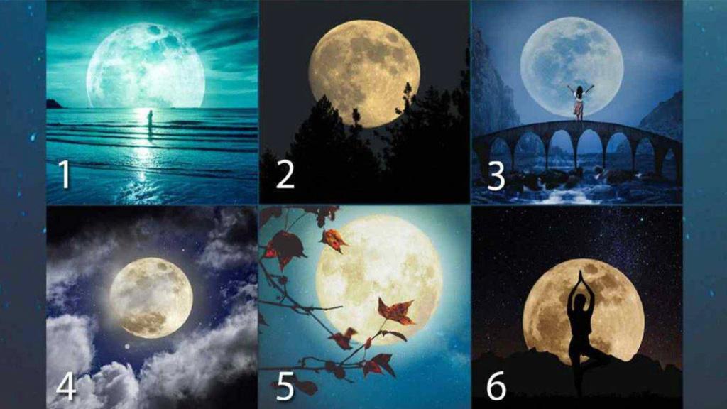 Trắc nghiệm: Chọn một mặt trăng để biết được tính cách và tình duyên của bạn  Trac-n10