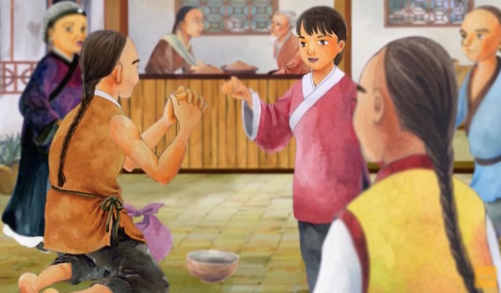 Người ăn mày 'đệ nhất thiên cổ' Vua-hu12