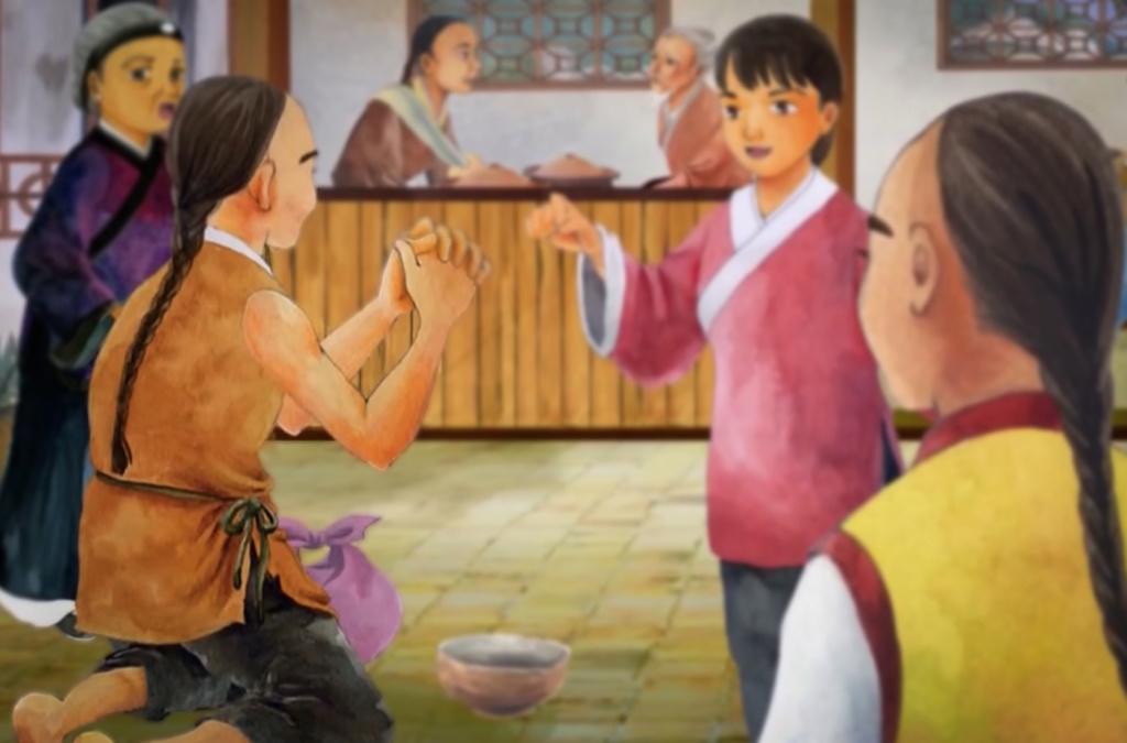 Người ăn mày 'đệ nhất thiên cổ' Vua-hu18