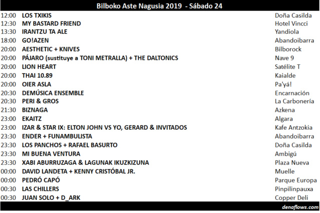 BILBOKO ASTE NAGUSIA 2019 - Conciertos - Página 2 08_ast10