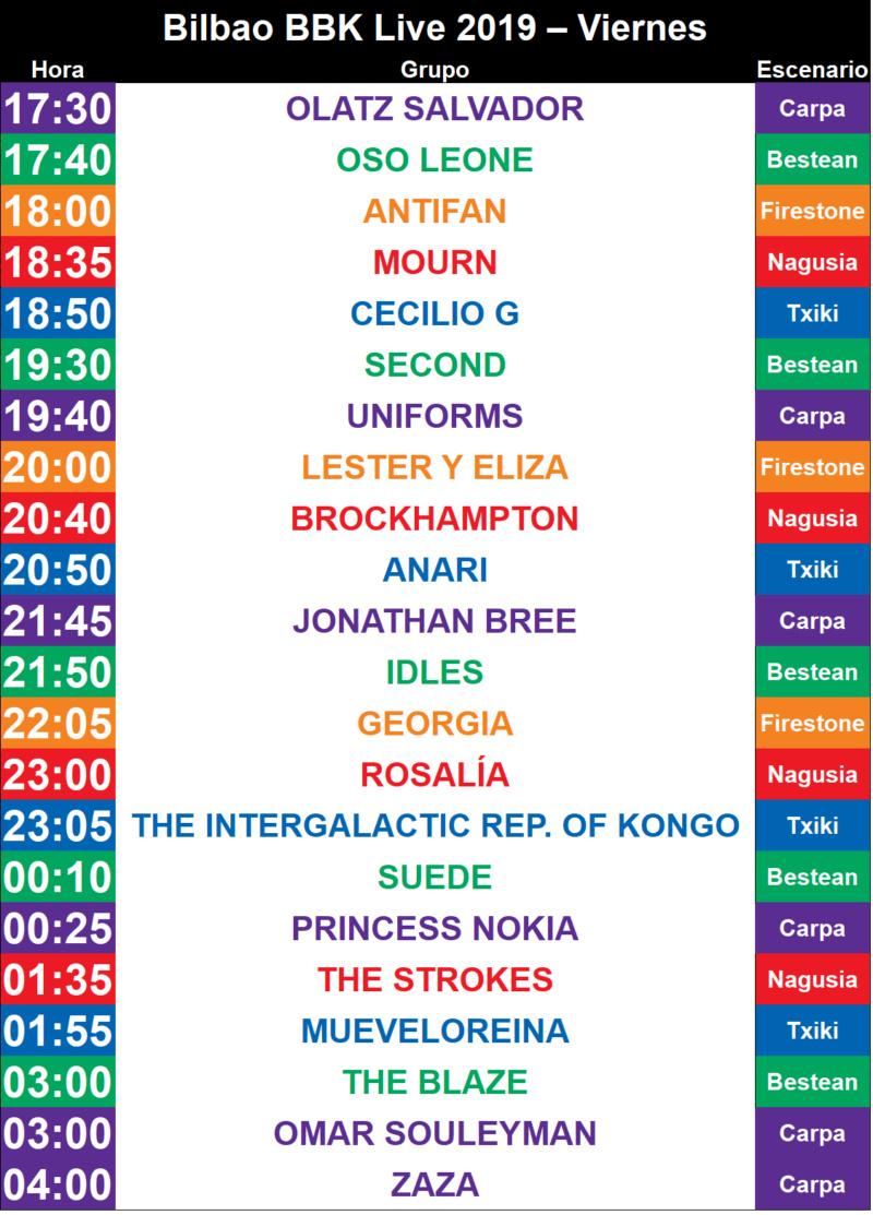 BBK LIVE 2019 (11, 12 y 13 DE JULIO). Y por fin Weezer!!!! - Página 17 Bilbao10
