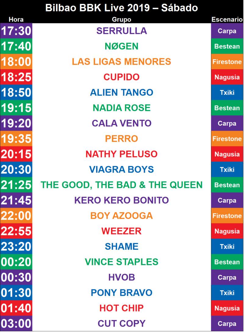 BBK LIVE 2019 (11, 12 y 13 DE JULIO). Y por fin Weezer!!!! - Página 17 Bilbao12
