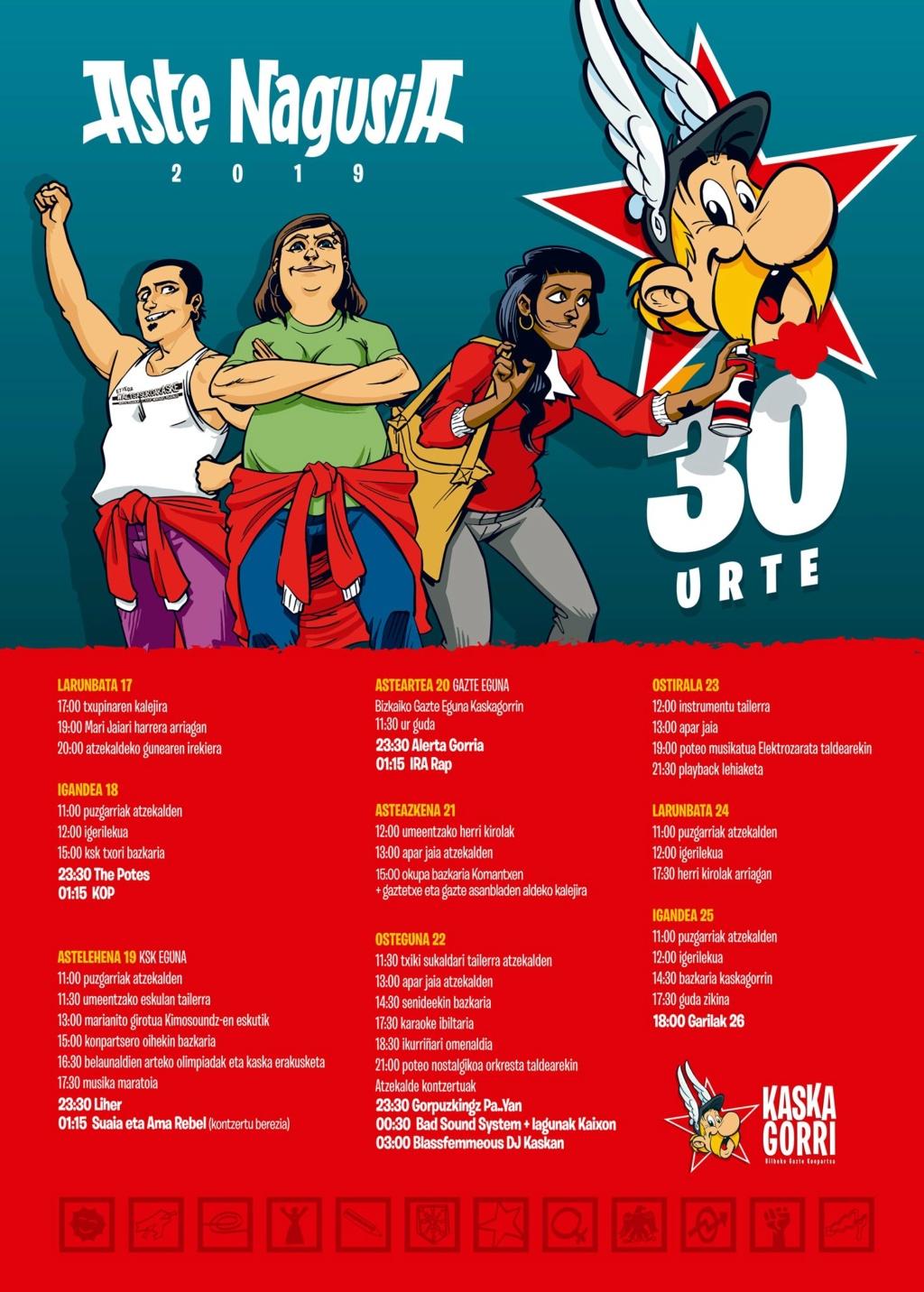 BILBOKO ASTE NAGUSIA 2019 - Conciertos Bilbok23