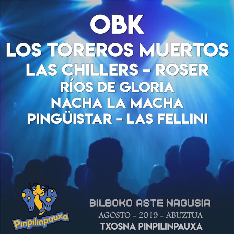 BILBOKO ASTE NAGUSIA 2019 - Conciertos Bilbok29