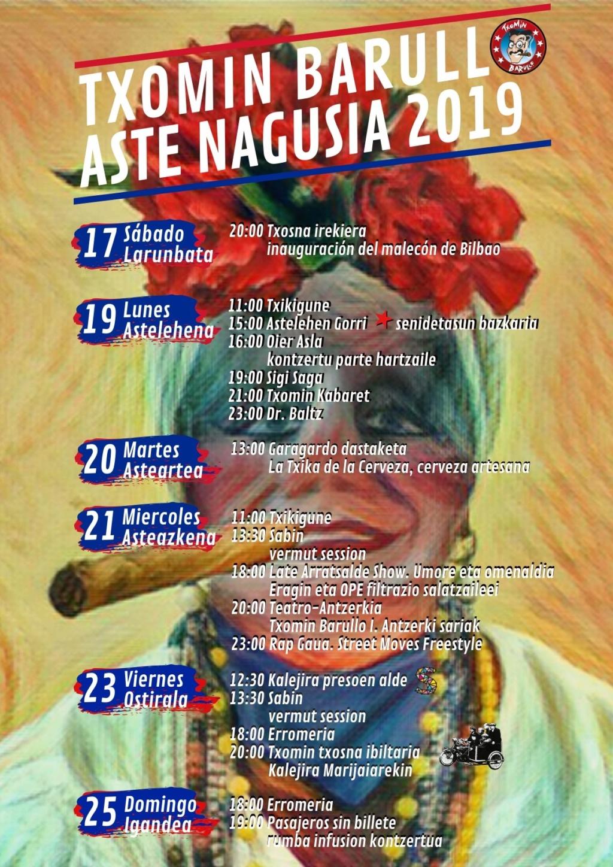 BILBOKO ASTE NAGUSIA 2019 - Conciertos Bilbok36