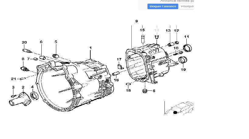 [ BMW E36 325 tds an 1998 ] Levier de vitesse à droite Schzao10