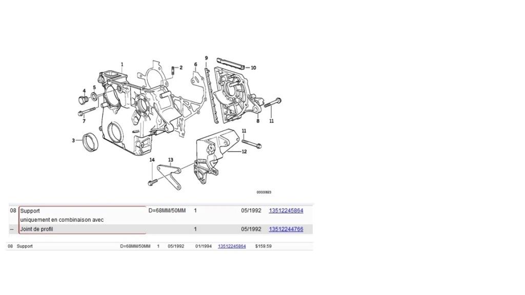 [ BMW E36 M51 an 1997 ] Adaptation POMPE VER 515 SUR BLOC  VER 300.1(Résolu) Suppor10