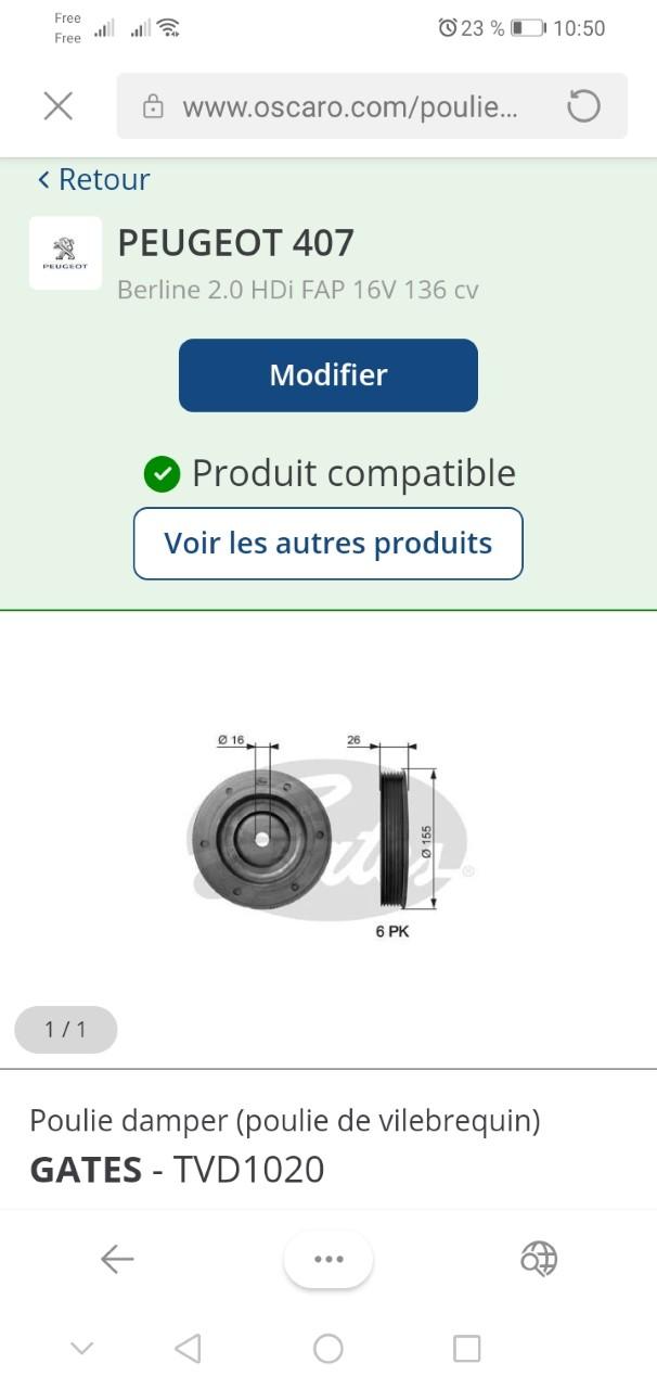 [Peugeot 407 2.0 hdi 136 ] Problème poulie damper Thumbn10