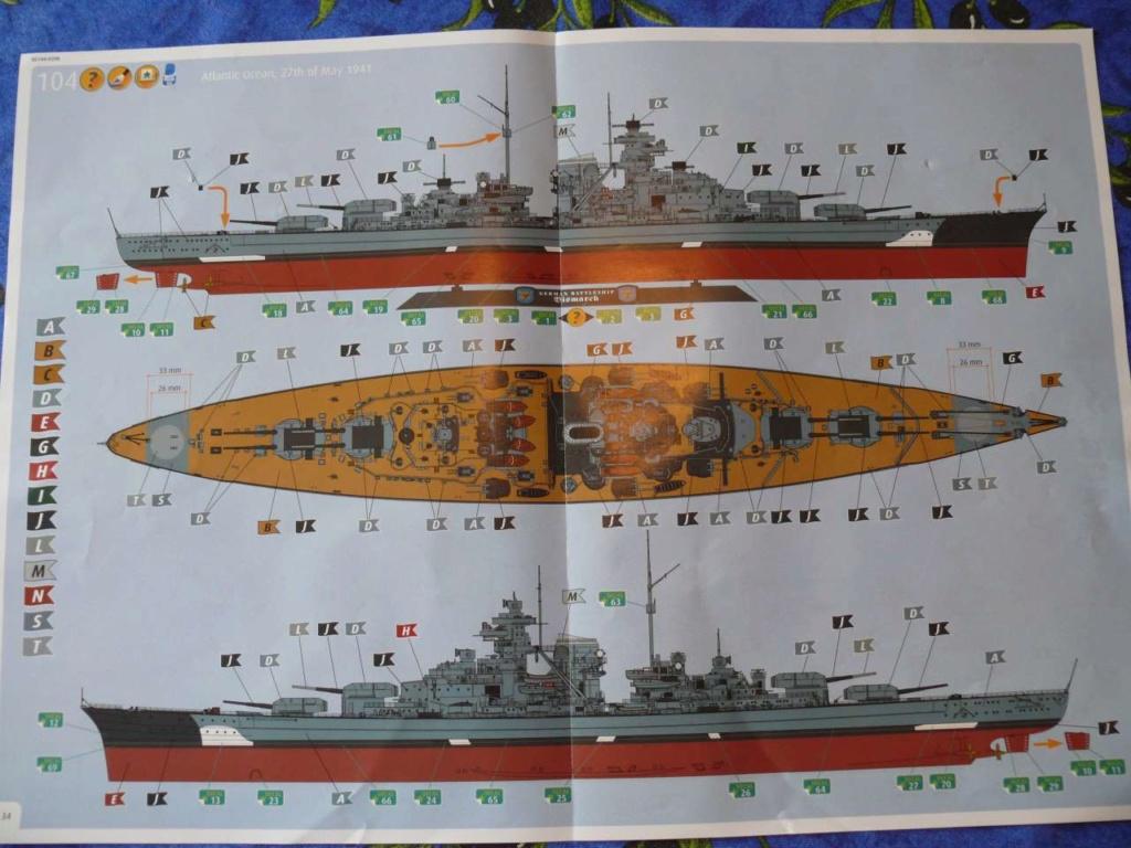 Bismarck Revell 1/350 - Page 2 Bismar10