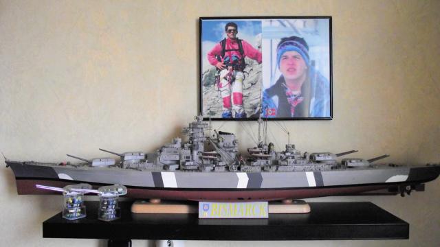 Bismarck au 1/200eme - Maquette Hachette/Amati Bismar15
