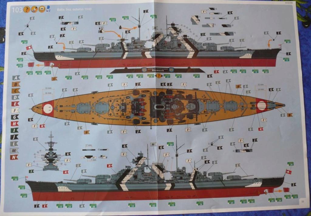 Bismarck 1/350 Tamiya  Bismar16