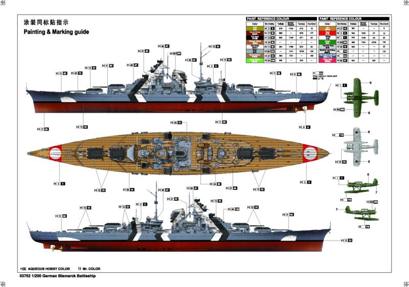Bismarck au 1/700 de Meng  - Page 3 Bismar21