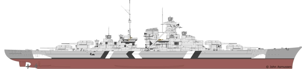Bismarck 1/350 Revell Premium + PE - Page 3 Paintb10