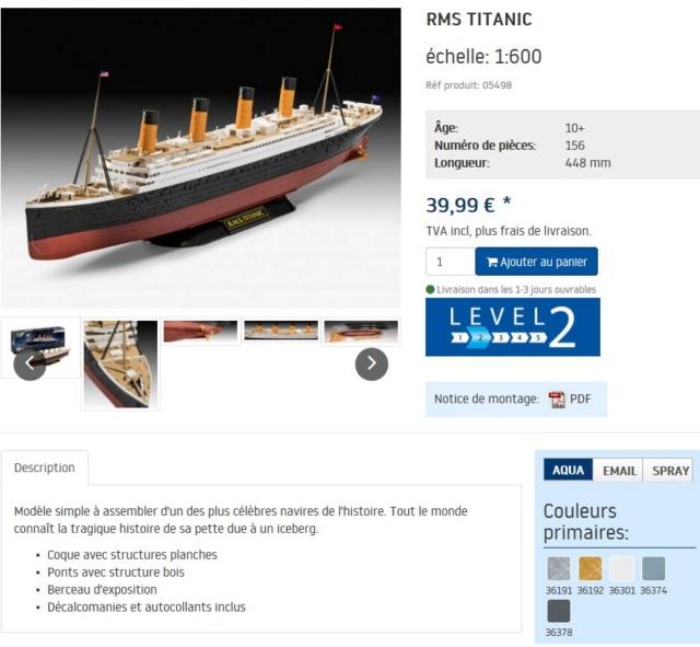 Bismarck Revell 1/350 Titani12