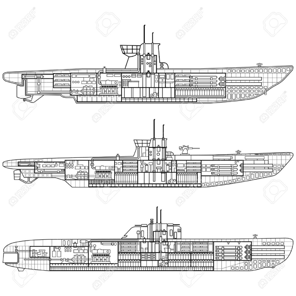 German U-Boot U-47 de Günther Prien avec intérieur  - Page 2 U_boot10