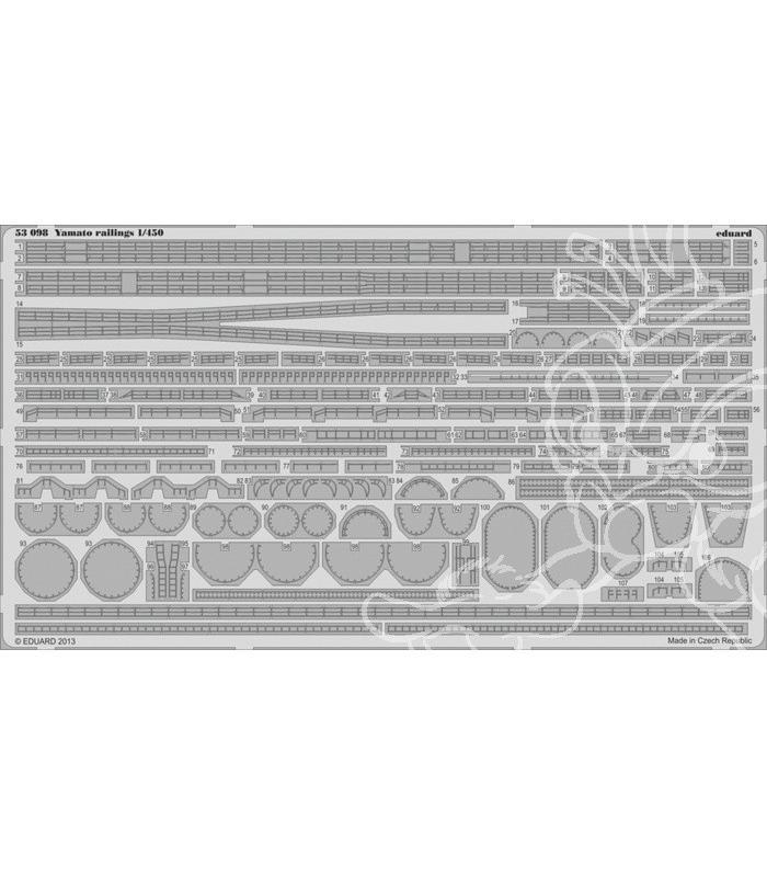 Yamato Hasegawa 1x450 +PE Eduard - Page 2 Yamato13