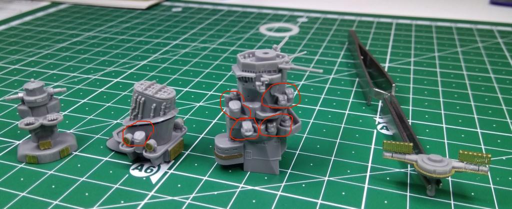IJN Yamato Tamiya 1/700e + PE Eduard - Page 2 Yamato14