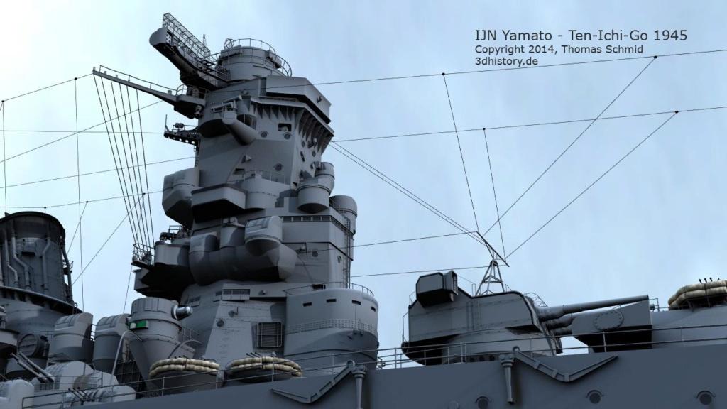 Mon YAMATO 1/350 +PE+Pont Tamiya  - Page 2 Yamato16