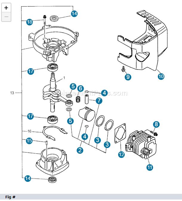 Problema rimontaggio cilindro tosasiepi ECHO 2018-110