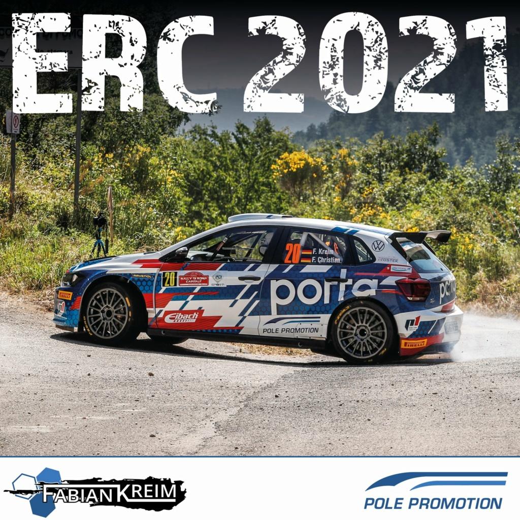 FIA European Rally Championship: Temporada 2021 13189510