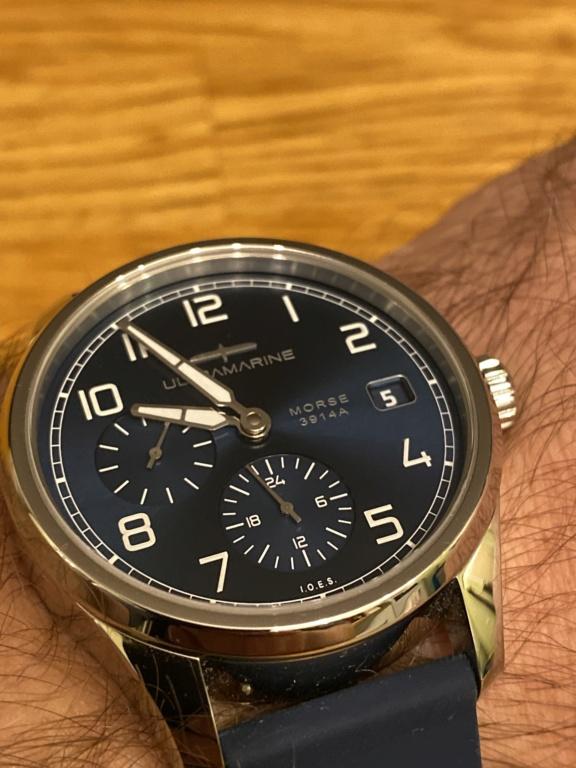 ULTRAMARINE Morse 9141B - Conçue pour ceux qui aiment les vraies montres - Page 40 Dd858610
