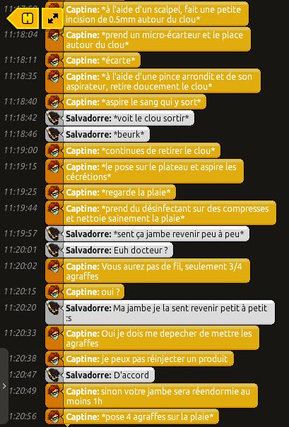 [C.H.U] Rapports d'actions RP de Captine Bandi122