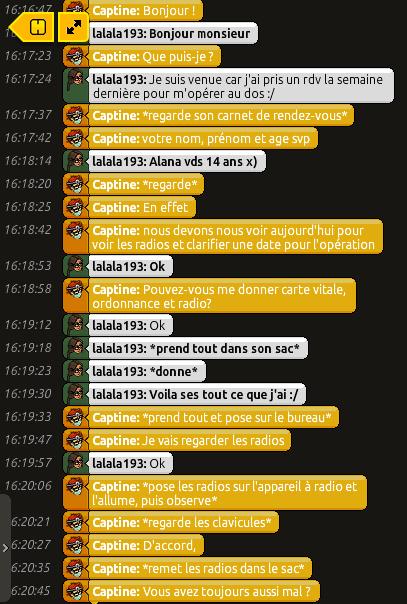[C.H.U] Rapports d'actions RP de Captine Bandi146