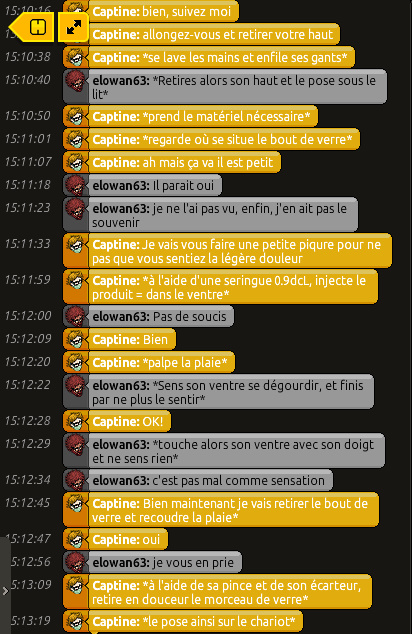 [Captine] Rapports d'actions RP Bandic19
