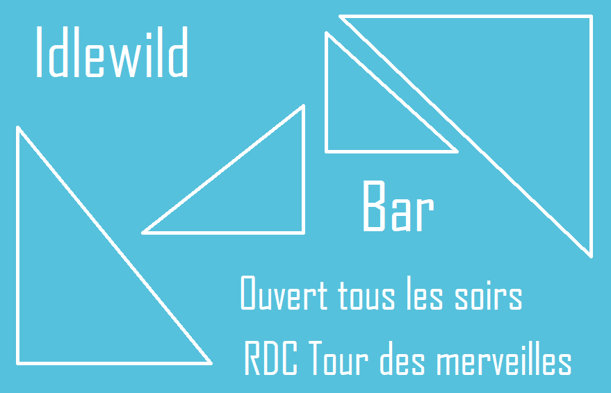 Le catalogue du bar Idlewild Bar_210